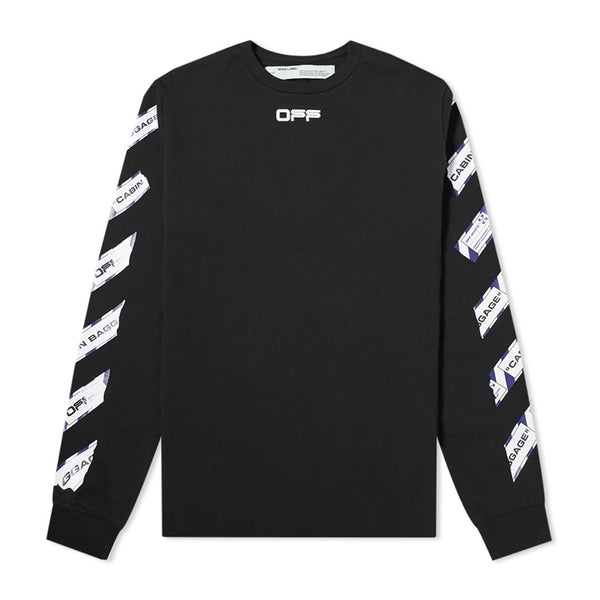 Off White Airport Tape Longsleeve