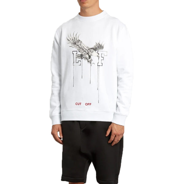 Off White Eagle Sweatshirt