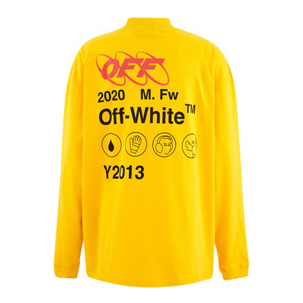 Off White Factory Half Zip Longsleeve - Rare Fashion