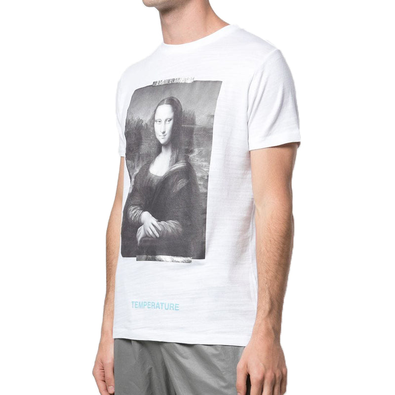 Off White MCA mona lisa T-Shirt - Rare Fashion