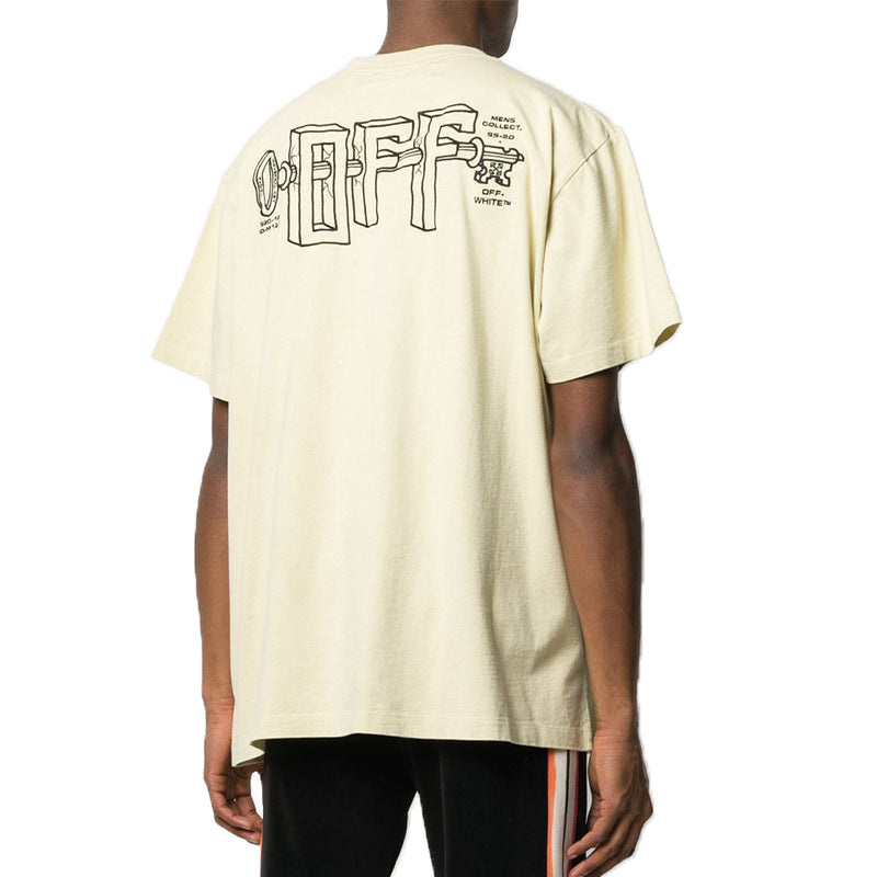 Off White Plastic T-Shirt