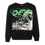 Off White Ruined Factory Wool Sweater