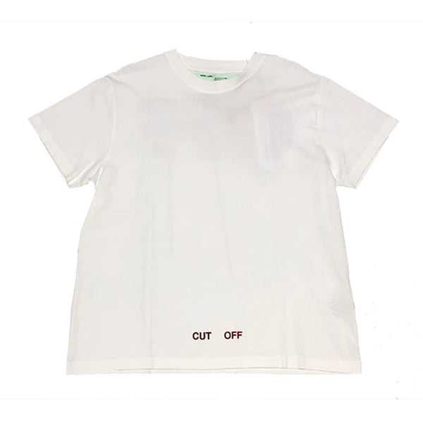 Off White Silver Tape T-Shirt
