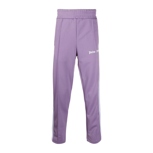 Palm Angels Logo Velour Trackpants
