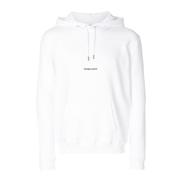 Saint Laurent Small Logo Hoodie - Rare Fashion