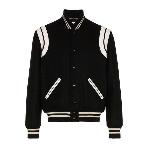 Saint Laurent Teddy Bomber Jacket - Rare Fashion