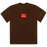 Travis Scott x McDonald's Sesame Inv III T-Shirt Brown - Rare Fashion
