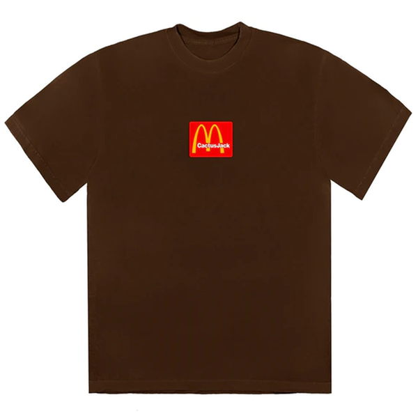 Travis Scott x McDonald's Sesame Inv III T-Shirt Brown