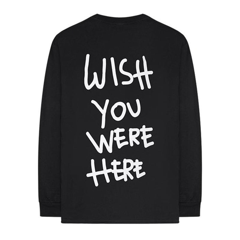 Travis Scott Wish you were here Longsleeve - Rare Fashion