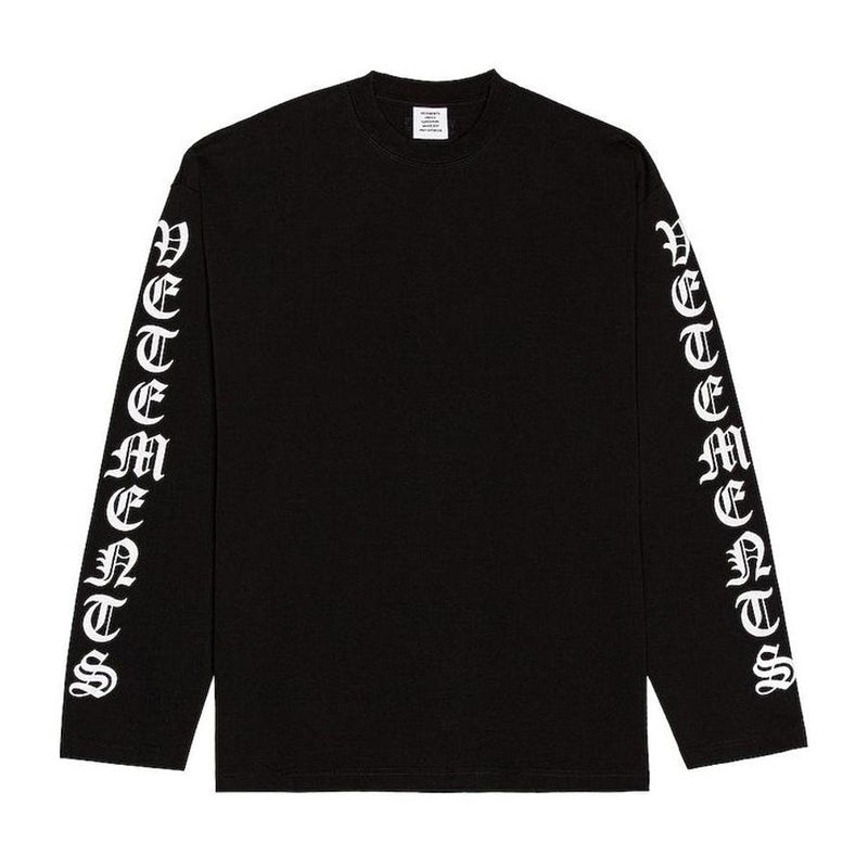 Vetements Gothic Longsleeve