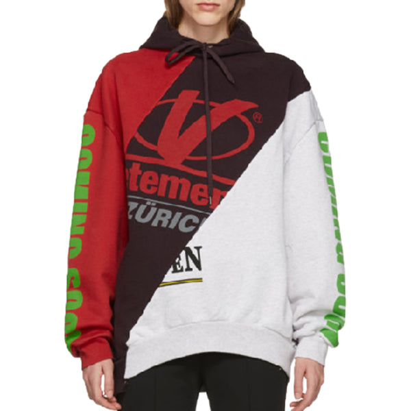 Vetements Zürich Cut Up Hoodie - Rare Fashion