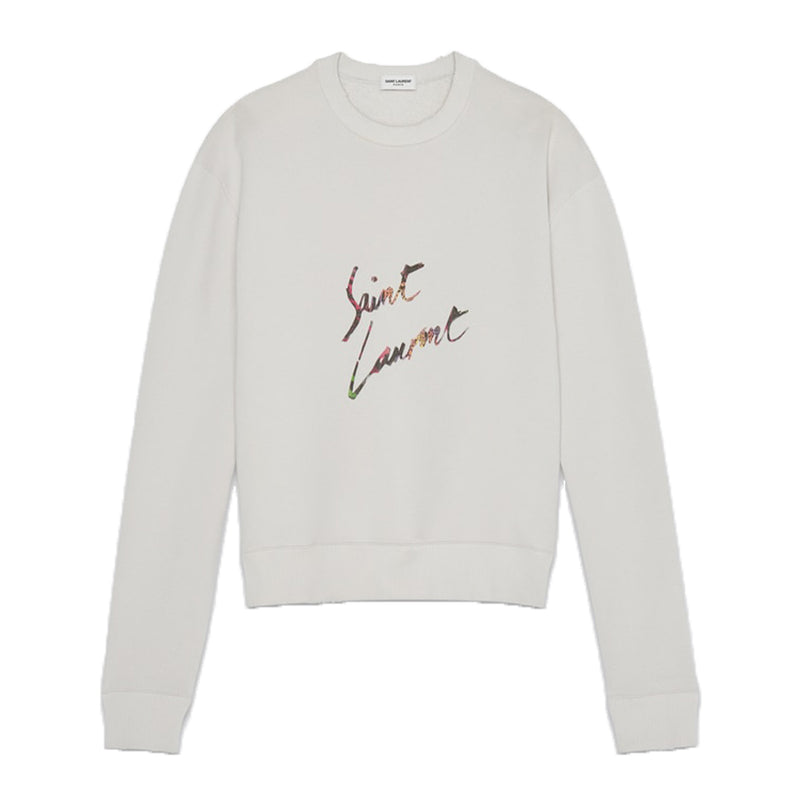 Saint Laurent Signature Logo Sweater