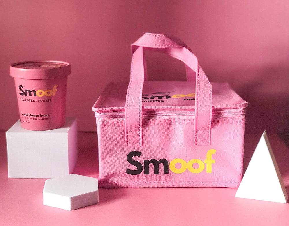 Bundle Gift Set w Insulated bag (4 Acai Pints) - Smoof | Acai pints |