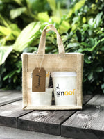 Bundle Gift Set w Jute bag (2 Açaí Pints + Original Toppings Kit) - Smoof | Acai pints |