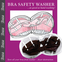 BRA SAFETY WASHER S/8073 WHITE