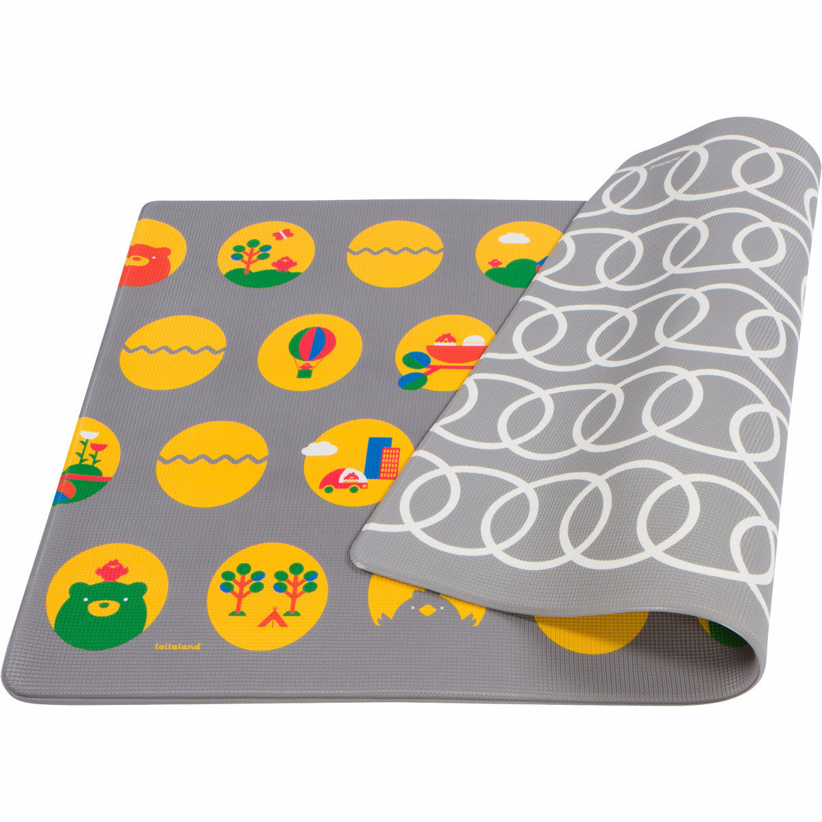 lollaland play mat reversible ultra cushioned non toxic lollaland