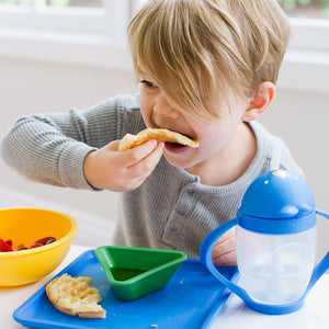 Lollaland Mealtime + Lollacup - Made in USA, Microwaveable, Dishwasher-Safe
