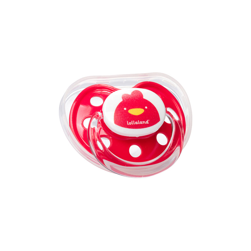 Orthodontic Pacifier with Snap-On Cover