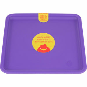 Lollaland Kids' Plates - Made in USA, Microwaveable, Dishwasher-Safe