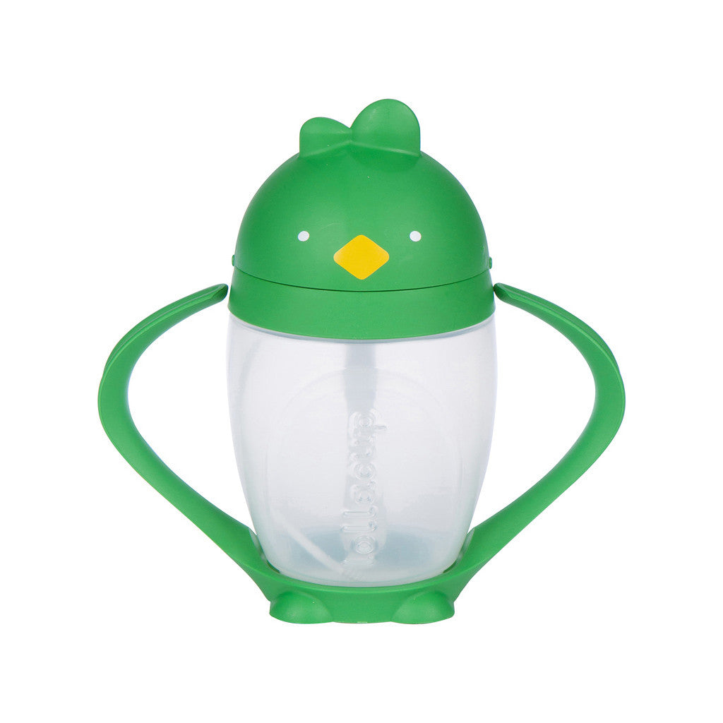 Green Weighted Straw Sippy Cup