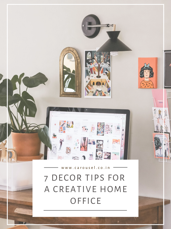 7 decor ideas and tips for a creative home office