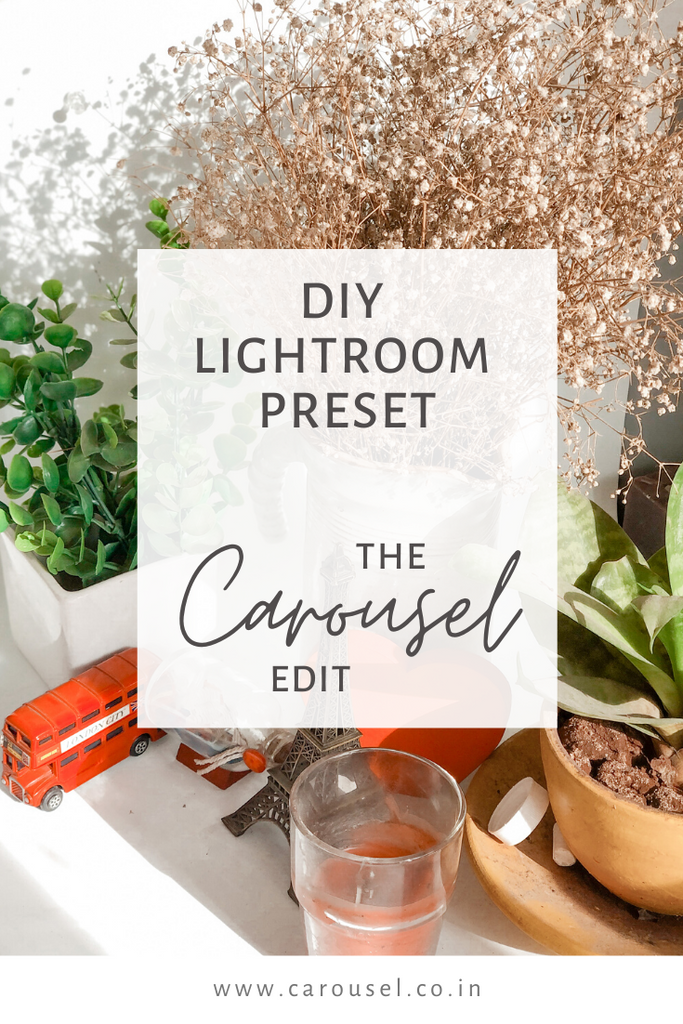 DIY Lightroom Preset