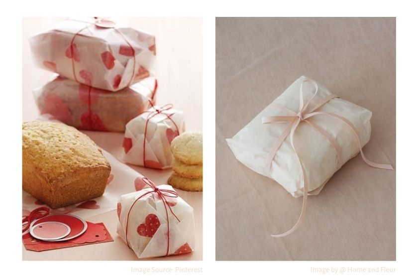 tissue gift wrapping ideas