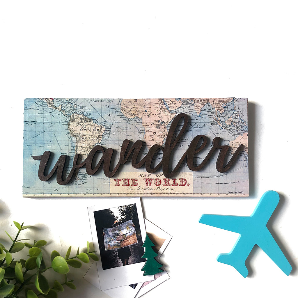 Wall Sign - Wander