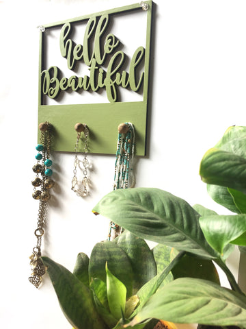 Jewellery Holder - Hello Beautiful