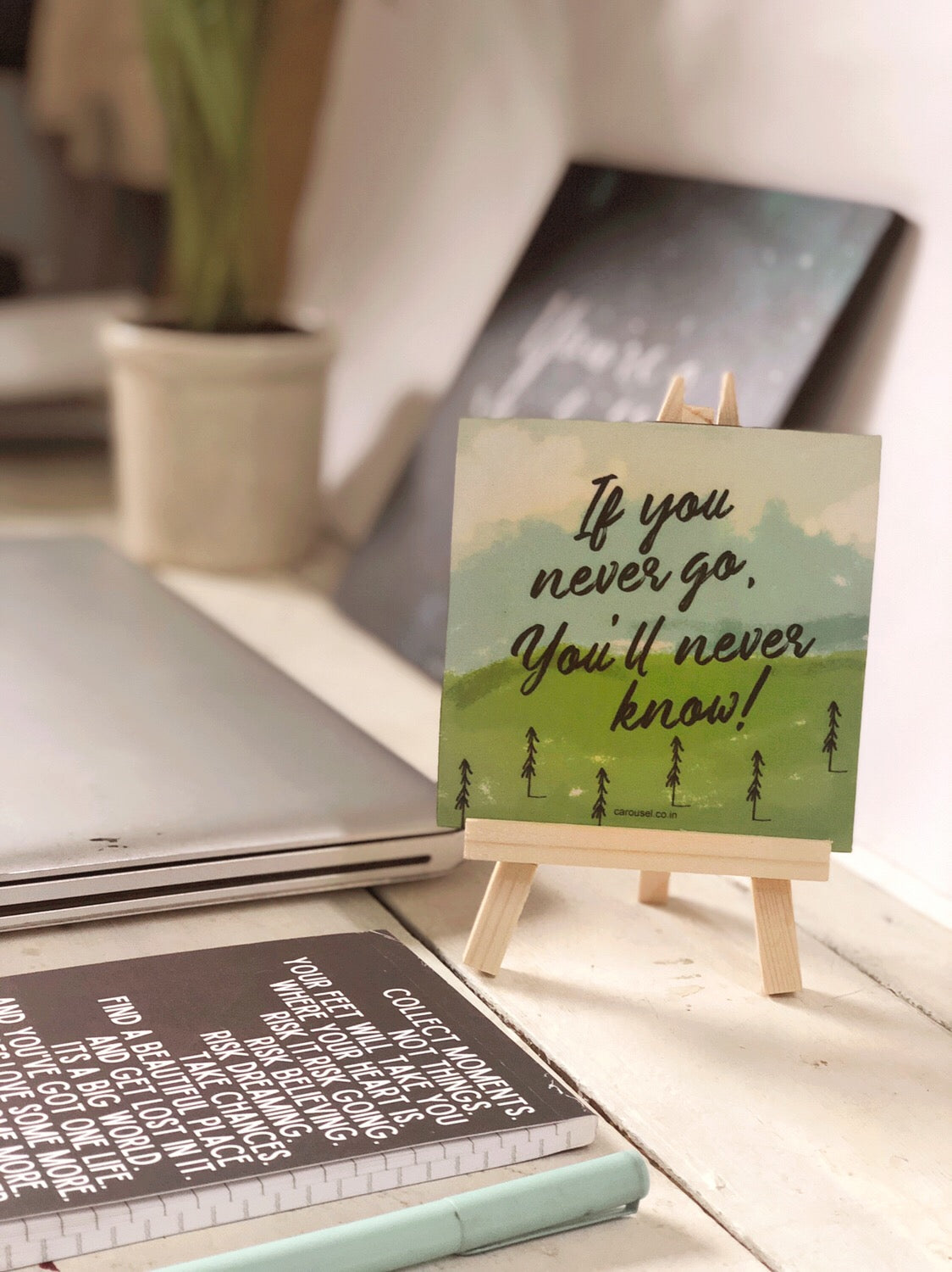 Quote Easel - Travel