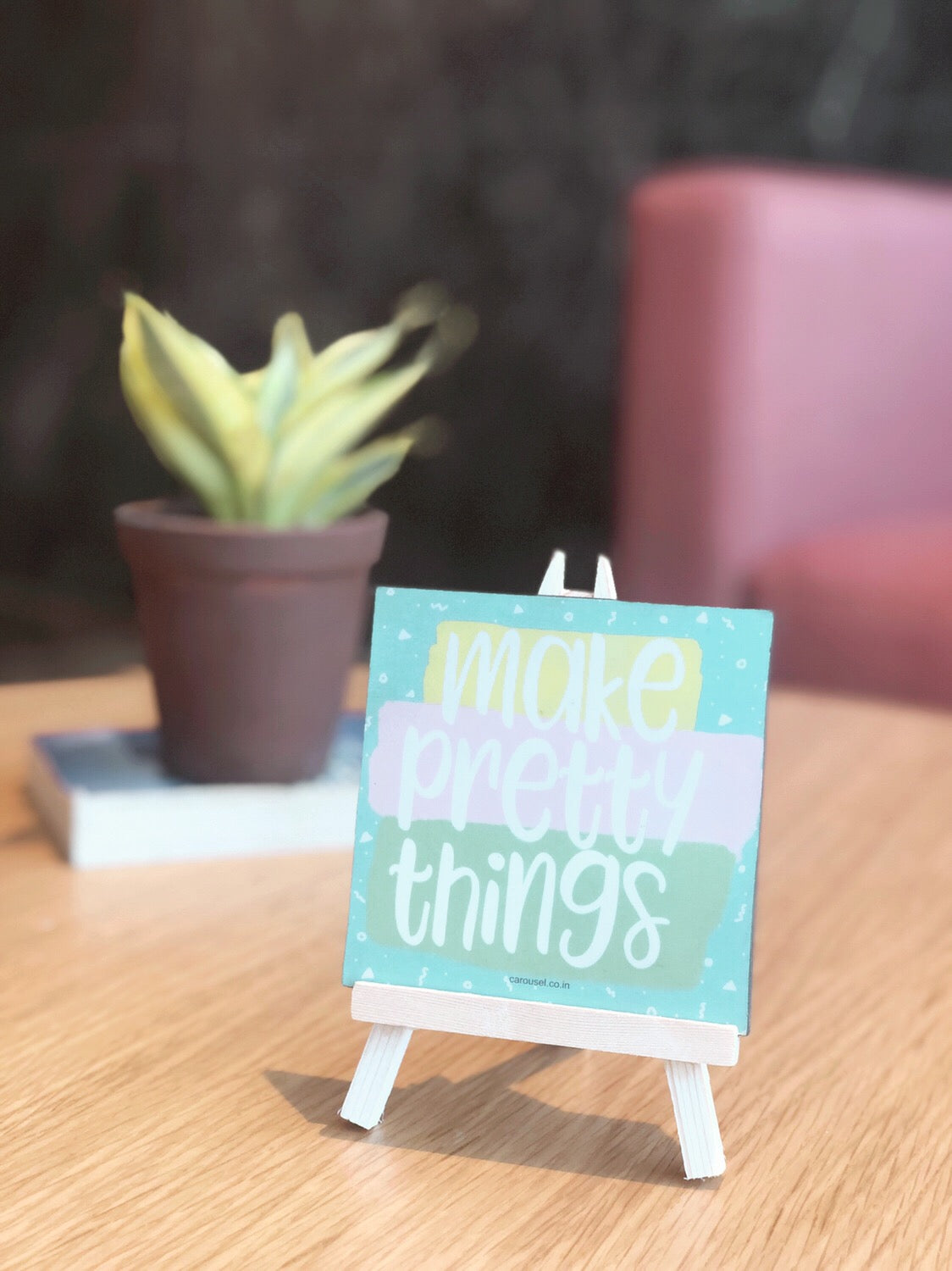 Quote Easel - Pretty