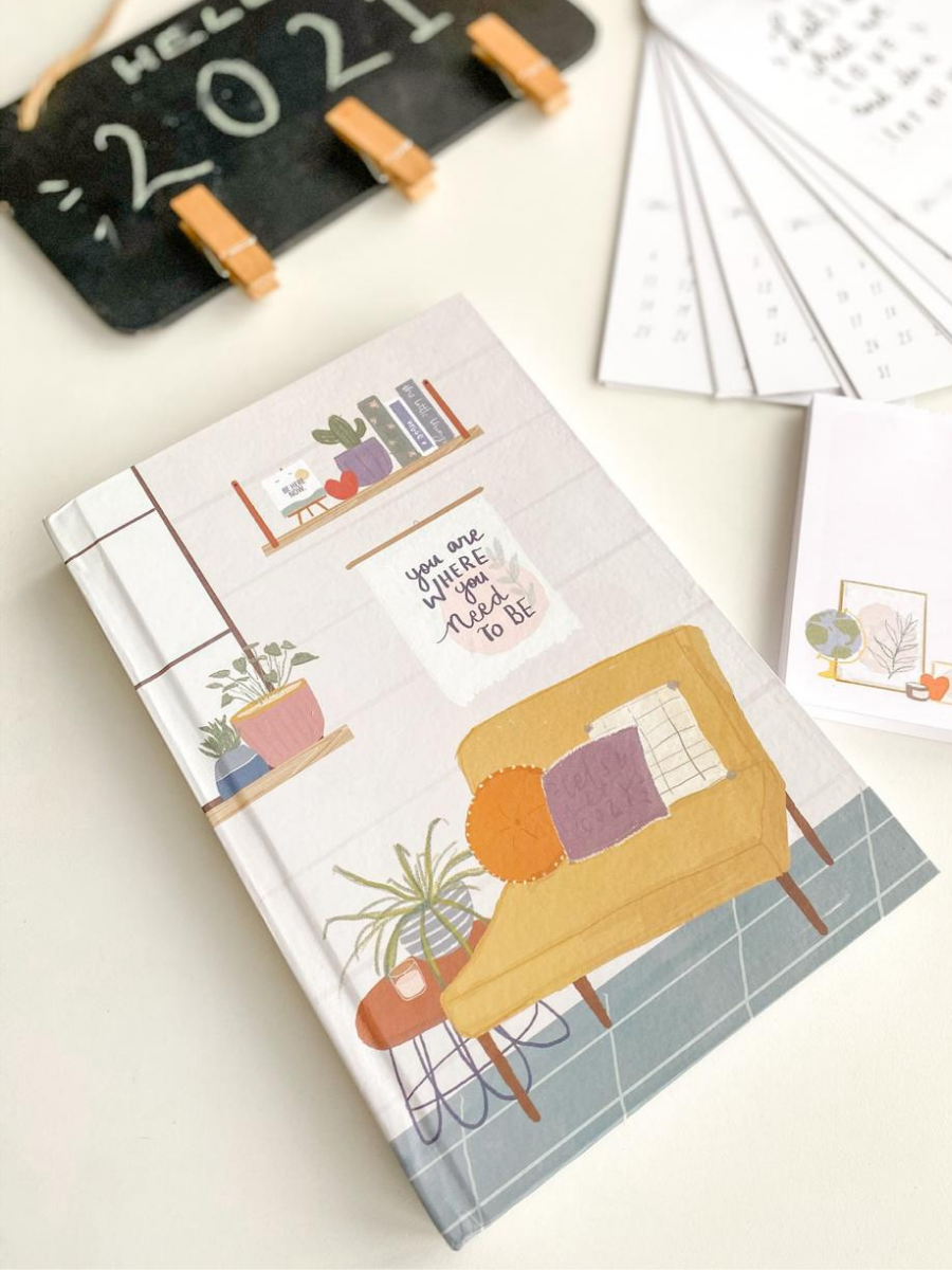 Undated Planner - You are where you need to be