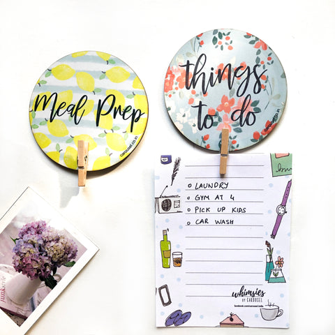 Clip Magnet - To do (Set of Two)