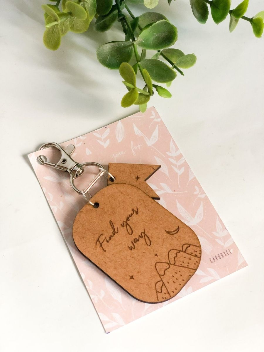 Keychains / Bag Charm - Find Your Way