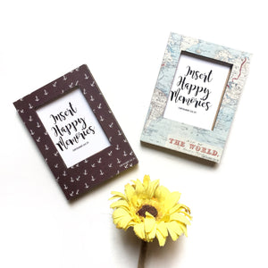 Polaroid Magnet - Adventure Awaits (Set of Two)
