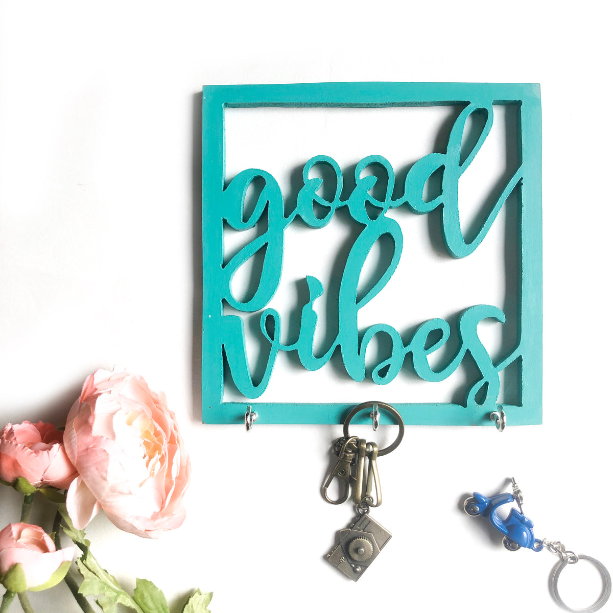 Wooden Cutout - Good Vibes