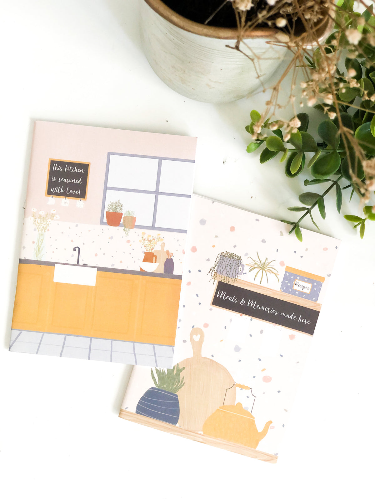 Journal - Recipe Book (Set of Two)