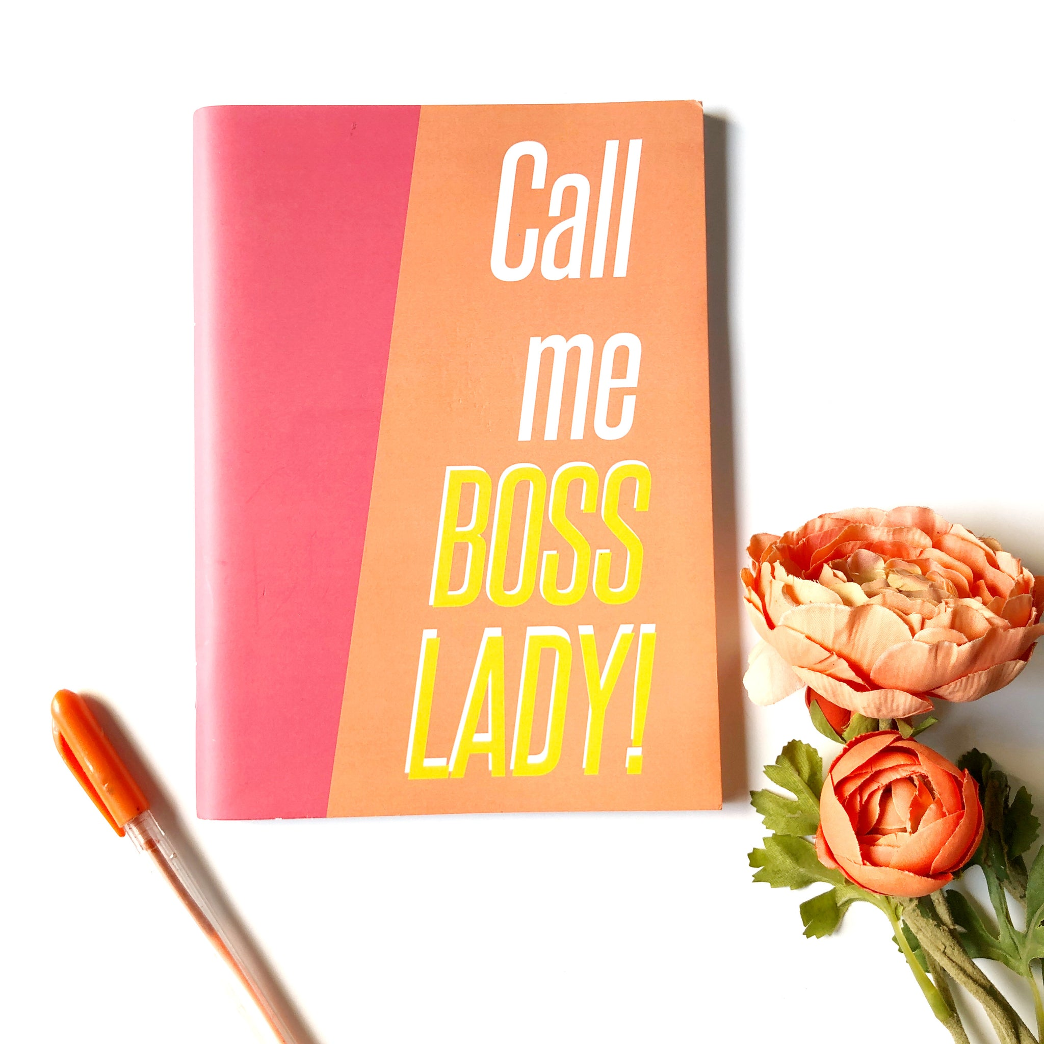 Notebook - Boss Lady