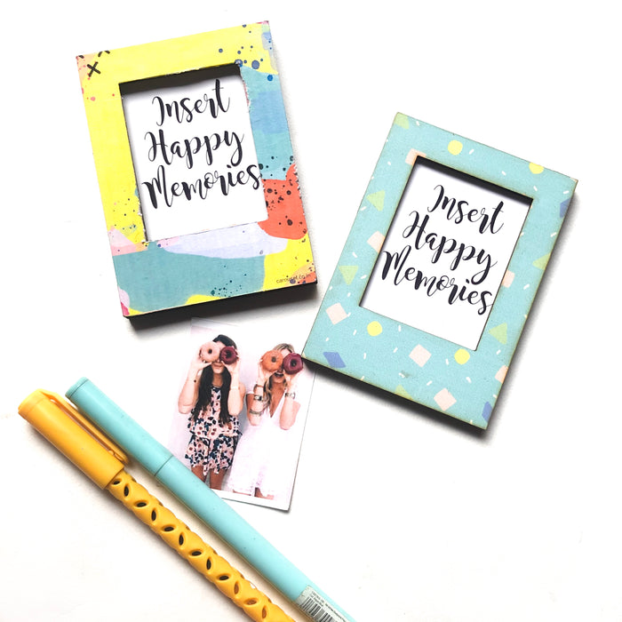 Polaroid Magnet - Pastel Party (Set of Two)