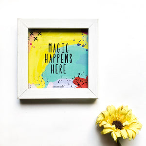 Quote Frame - Magic