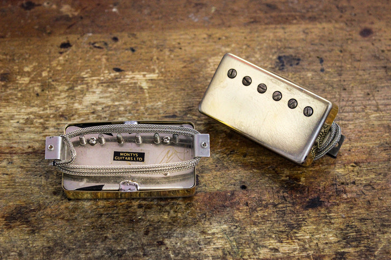 Monty's PAF Humbucker Pickup Set