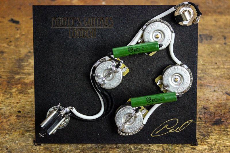 50's Wiring Loom for Les Paul Jr
