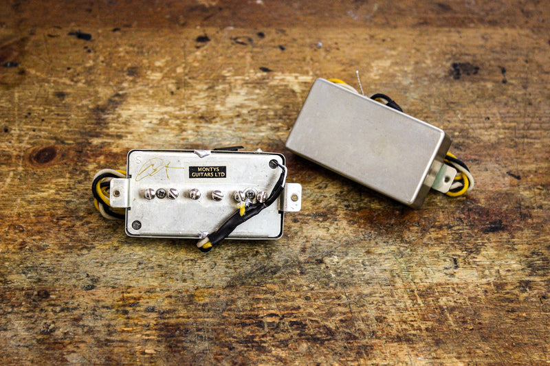 Humbucker-sized Leviathan P90 Pickup Set
