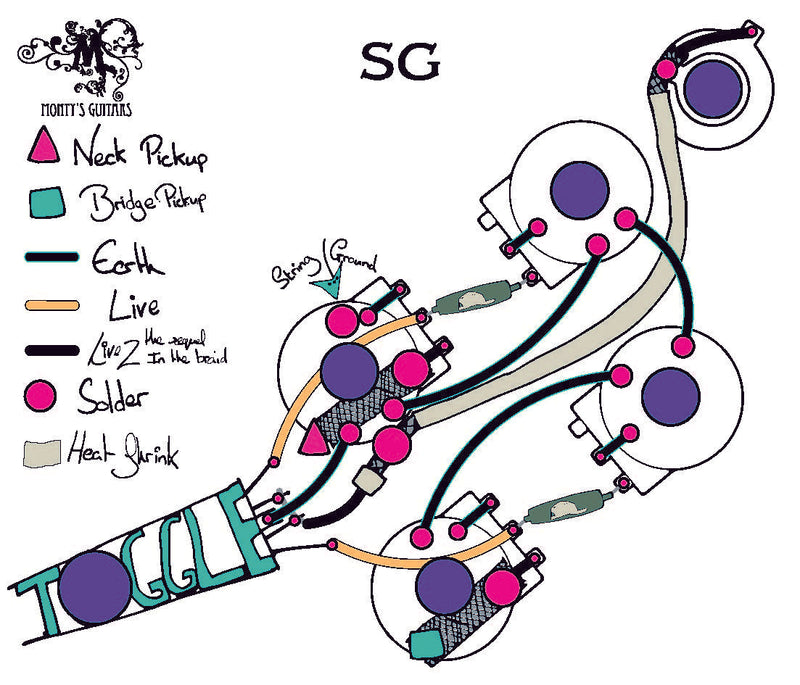 50's wiring loom for SG
