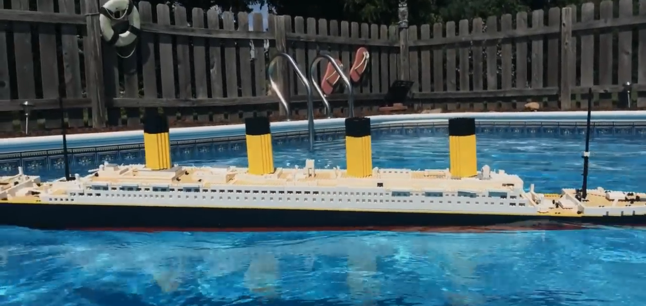 Limit discounts!】 titanic cruise ship model boat Blocks