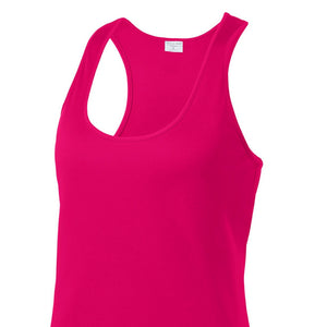 detachable panel with snap fastener, racerback tank top
