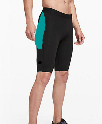 Men's Exercise Shorts with Spandex