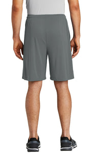 men's pocketed shorts - gray