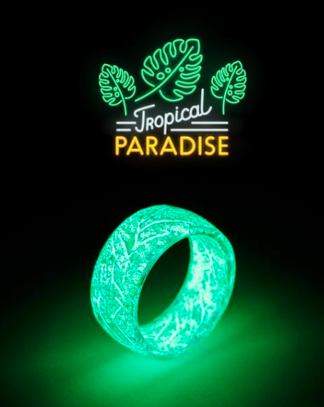 Tropical Paradise Anillo Luminoso Anillos Luminosos