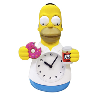 Los Simpson Reloj de Pared Homero Simpson